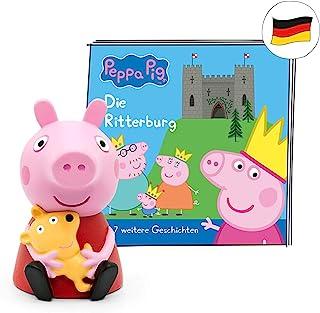 tonies Luisterfiguur voor Toniebox, Peppa Putz – De Ritterburg en 7 andere spannende Peppa Pig verhalen, luisterspel voor ...