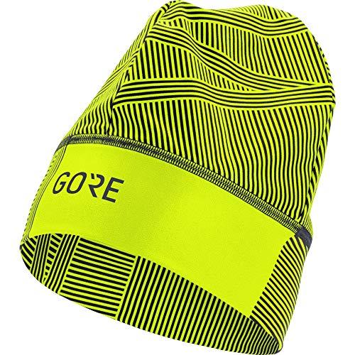 GORE WEAR Gorro Light OPTI Head, Unisex Adulto, Neon Yellow/Black, One