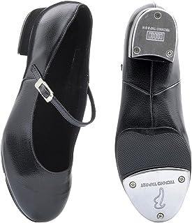 0bf83586 DANCEWEAR WORLD DIRECT Bloch 370 Kelly - Zapatos de claqué, Color Negro