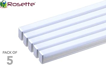 Rosette 20W LED Tube Light Cool White, 1.2 mtrs. (Set of 5)