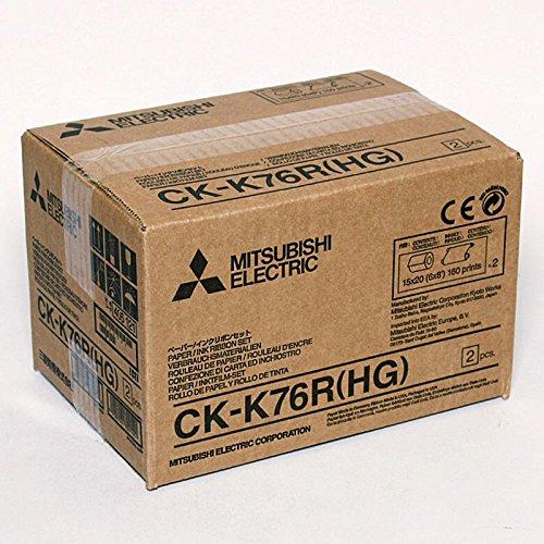 MITSUBISHI ck-k 76 Hg sublimatie en rol - set met inktpatroon