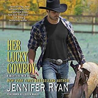 Her Lucky Cowboy audiobook cover art