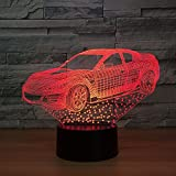 Licht Design Super Express Kind Farbe Nachtlicht Touch Tabelle Baby Nachtlicht holographische Heimtextilien