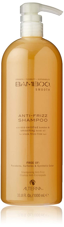 松の木安全な専門用語Alterna Bamboo Smooth Anti Frizz Champú 1000Ml