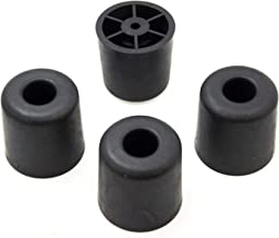4 Large #2 Rubber Feet - 1.621 H X 1.621 D - Made in USA - Non Marking - Perfect for Furniture, Sofas, Tables, Chairs, Des...