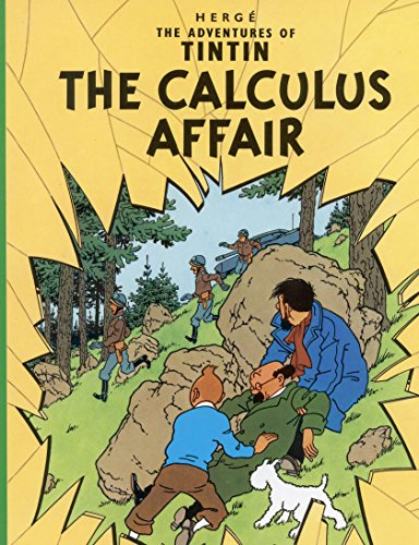 tintin Comics: Tintin and the Calculus Affair (English Edition)