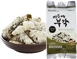 Seaweed Sweet Rice Crisps Kelp Flavor Crunch Bites Korean Snack 1.41 Ounce (Pack of 8) Non-GMO Gluten Free 0g Sugar