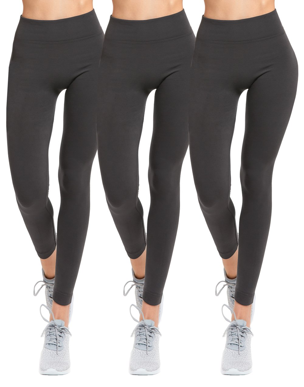 Womens Seamless Fleece Lined Leggings