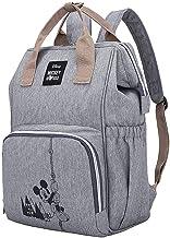 RTYUI Disney Minnie Mickey Diaper Bag Mochila para Mamá Bolsa De Maternidad para Silla De Paseo Organizador De Bolsa De Pañales para Bebés De Gran Capacidad Nuevo 41 * 25 * 15 cm /1