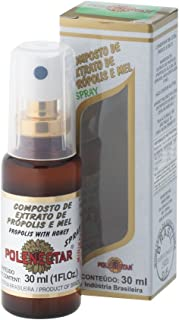 2 Pack of Polenectar Propolis Extract with Honey in Spray Form