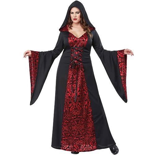 58e3e98a6b6 California Costumes Gothic Robe Plus Size Costume- Red Black