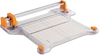 Fiskars Procision Bypass Rotary Trimmer, 20 Sheets, 12 1/2