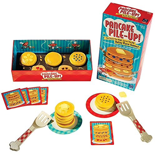Educational Insights Pancake PileUp Sequence Relay Game for Preschoolers Ages 4