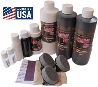 Blend It On Furniture Leather Max Complete Room/Large Sectional Kit/Leather Repair & Refinish/The Only Repair Refinish You Will Ever Need (Mahogany)