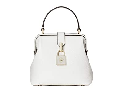 Kate Spade New York Remedy Small Top-Handle (Optic White) Handbags