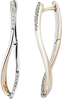 Hübsche Ohrringe Creolenart grau anthrazitfarben neu zu verkaufen