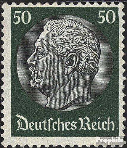 buscando agente de ventas Prophila Collection alemán Imperio 492 examinado 1933 1933 1933 Hindenburg (Sellos para los coleccionistas)  seguro de calidad