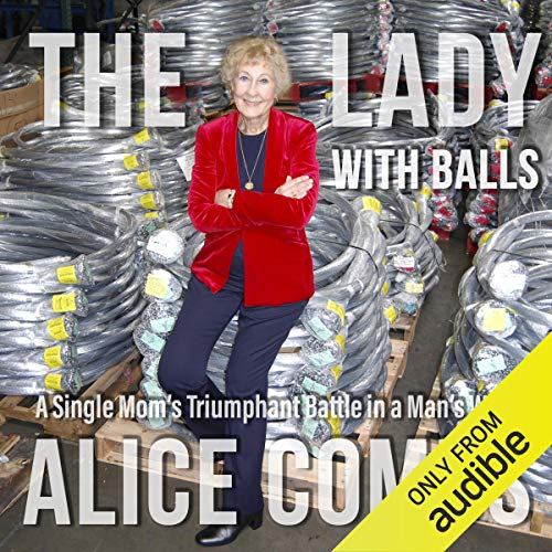 The Lady with Balls audiobook cover art