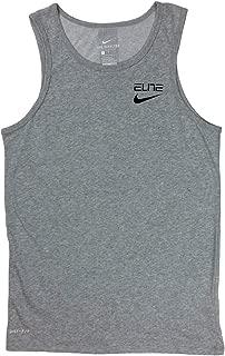 Mens Dri-Fit Elite Stripe Basketball Tank Top Shirt