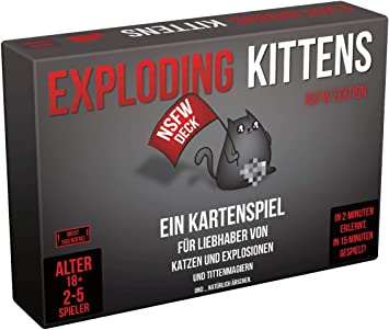 Gioco in Scatola Exploding Kittens Asmodee