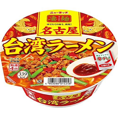 ヤマダイ ニュータッチ 凄麺 名古屋台湾ラーメン