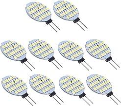 10x G4 1210 SMD 24 LED Light Bulb Lamp White 3000 3500K DC 12V