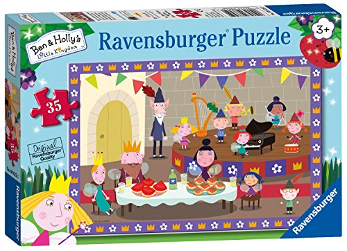 Ravensburger Ben & Holly Puzzle de 35 Piezas