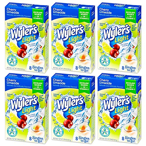 Wyler's Light Singles-To-Go Sugar Free Drink Mix (Cherry Limeade)