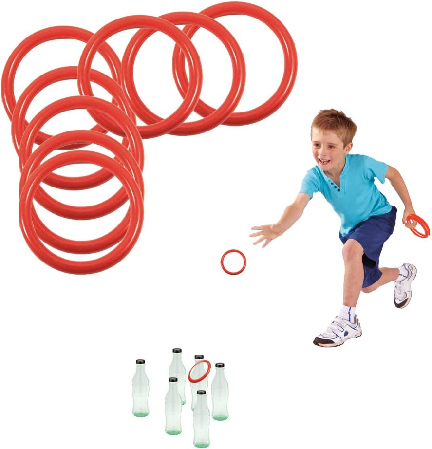 Toy Cubby Ring Toss Ring-a-Bottle Game Pcs Choice Sale SALE% OFF Inches Set 12 2.5