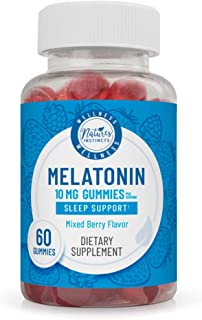 Nature's Instincts Nature's Instincts Melatonin 10mg Gummies for Sleep Support (Mixed Berry Flavor) Sleep Aid, 60 Ct, 60 C...