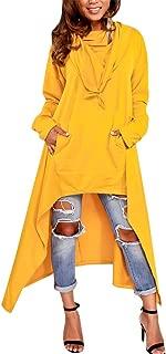 Best plus size asymmetrical hoodie Reviews