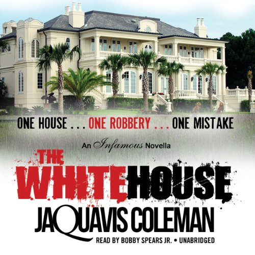 The White House audiobook cover art