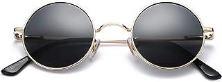 Sponsored Ad - Pro Acme Retro Small Round Polarized Sunglasses for Men Women John Lennon Style
