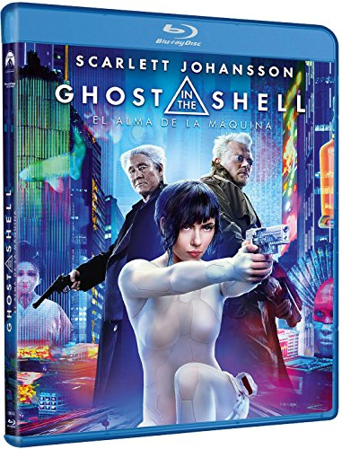 Ghost In The Shell: El Alma De La Maquina [Blu-ray]