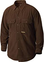 Drake 3-Pocket Micro-Fleece Shirt Pintail Brown Small