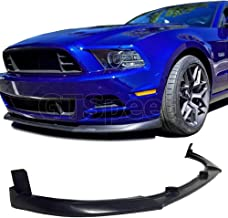 GT-Speed for 2013-2014 Ford Mustang V6 V8 CV Style USDM PU Front Bumper Lip (Not Compatible With Shelby/GT500 Bumper)
