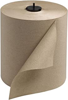 Tork 290088 Universal Single-Ply Hand Roll Towel, Natural, Pack of 6