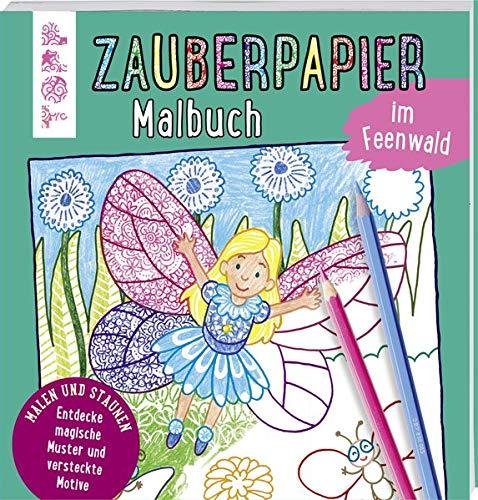 Zauberpapier Malbuch im Feenwald: Entdecke magische Muster und versteckte Motive