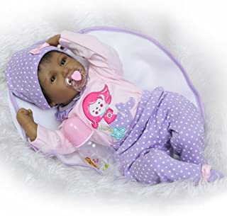 Reborn Baby Doll Girl Real Life Soft Silicone 22
