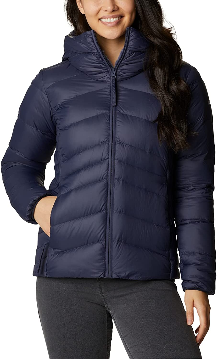 Columbia Women's Industry No. 1 Autumn Park Excellent Jacket Down Hooded