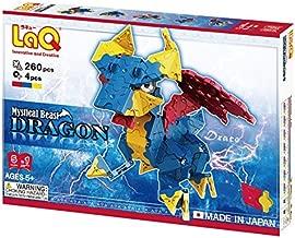LaQ Mystical Beast DRAGON - 5 Models, 260 Pieces - Creative Construction Toy