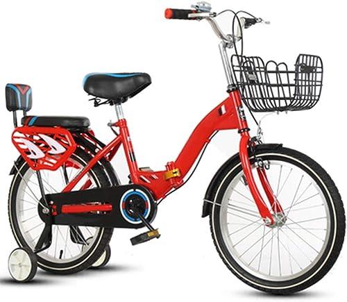 descuentos y mas Axdwfd Infantiles Infantiles Infantiles Bicicletas Bicicletas para Niños, Bicicletas para Niños de Acero al Carbono de 16 18 20 Pulgadas Regalo para Niños y niñas de 6 a 11 años de Edad  se descuenta