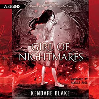 Girl of Nightmares     Anna Dressed in Blood, Book 2              By:                                                                                                                                 Kendare Blake                               Narrated by:                                                                                                                                 August Ross                      Length: 10 hrs and 3 mins     125 ratings     Overall 4.1