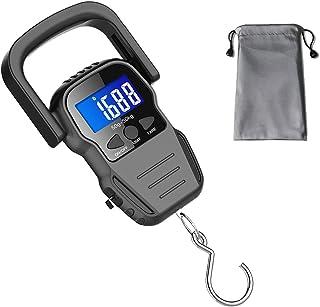 Báscula Digital portatil Básculas de Equipaje Escala de Pe