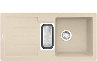 Franke Strata STG 651-86 Beige Granit-Spüle Küchenspüle Einbau-Spüle man. Bedien