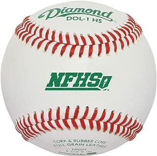 Diamond DOL-1 NFHS Official League Baseball (Dozen)