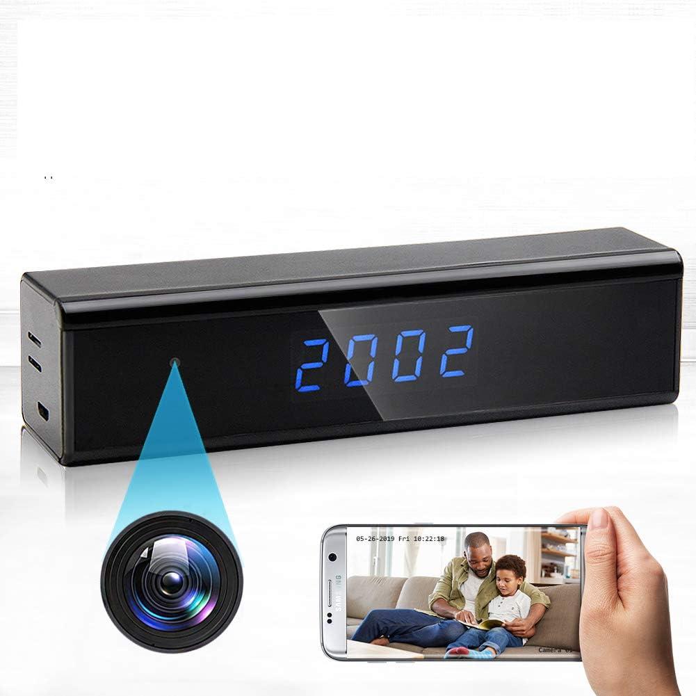 格安 価格でご提供いたします Hidden Spy Camera 1080P WiFi Detection ブランド買うならブランドオフ Motion with Clock