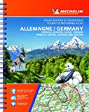 Michelin Germany, Benelux, Austria, Switzerland, Czechia Tourist & Motoring Atlas (bi-lingual): Road Atlas (ATLAS (25240))