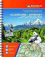Michelin Germany, Benelux, Austria, Switzerland, Czechia Tourist & Motoring Atlas (Bi-lingual): Benelux, Autriche, Suisse, Tchequie / Benelux, Austria, Switzerland, Czech Republic