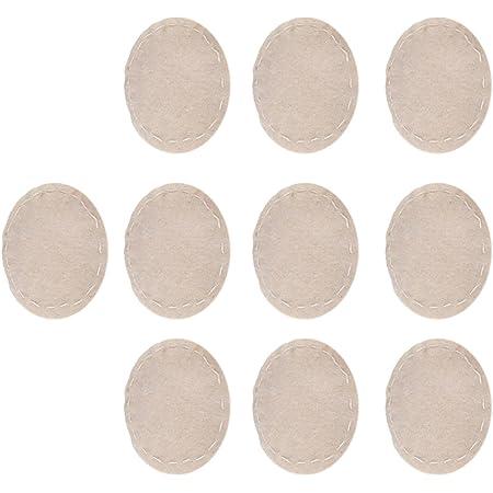Sharplace 10pcs Filtres Tissu Thé Lait Tissu De Siphon Lavable Tamis Sac Pour Machine Café De Siphon
